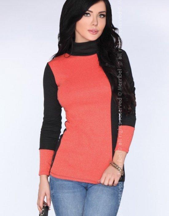 Елегантна дамска блуза в оранжево CG010, Merribel, Блузи / Топове - Modavel.com
