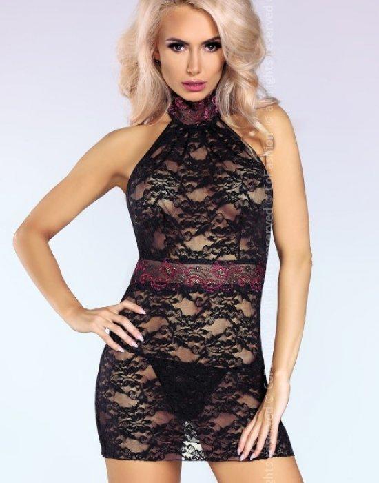 Еротична нощница с прашки Kiersten, CoFashion, Комплекти - Modavel.com