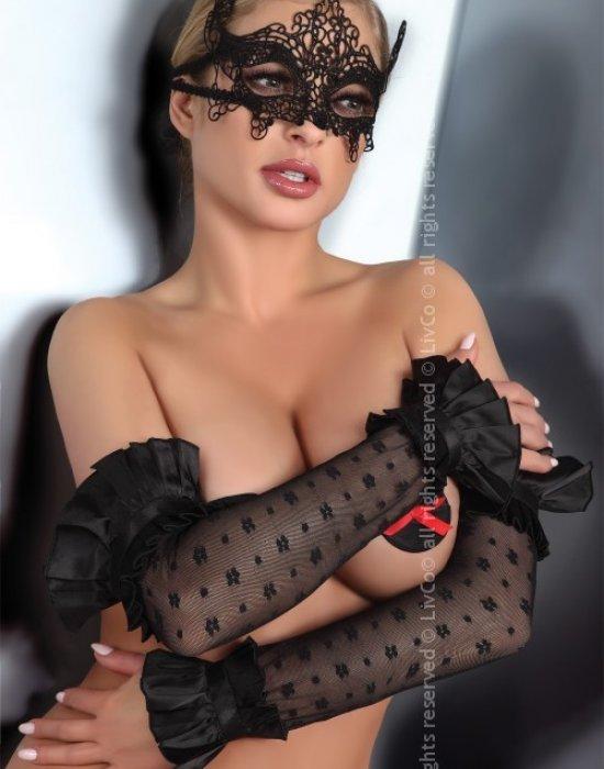 Еротични дантелени ръкавици, LivCo Corsetti Fashion, Еротични - Modavel.com