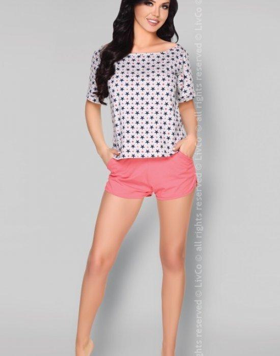Памучна пижама от две части Nakato, LivCo Corsetti Fashion, Пижами - Modavel.com