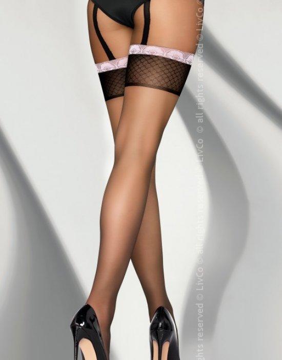 Секси чорапогащник наподобяващ две части Dionena 20 DEN, LivCo Corsetti Fashion, Чорапогащи - Modavel.com