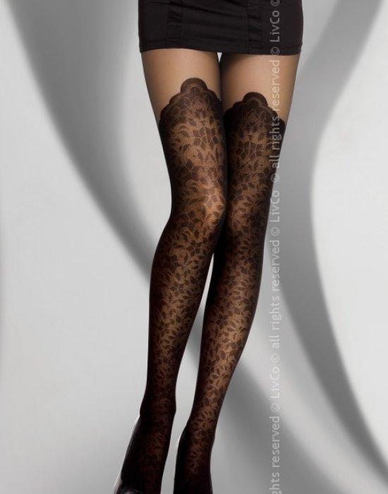 Секси чорапогащник в черен цвят Pascaline 40 DEN, LivCo Corsetti Fashion, Чорапогащи - Modavel.com