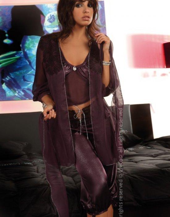 Секси комплект от три части в лилаво Jasmine, LivCo Corsetti Fashion, Комплекти - Modavel.com