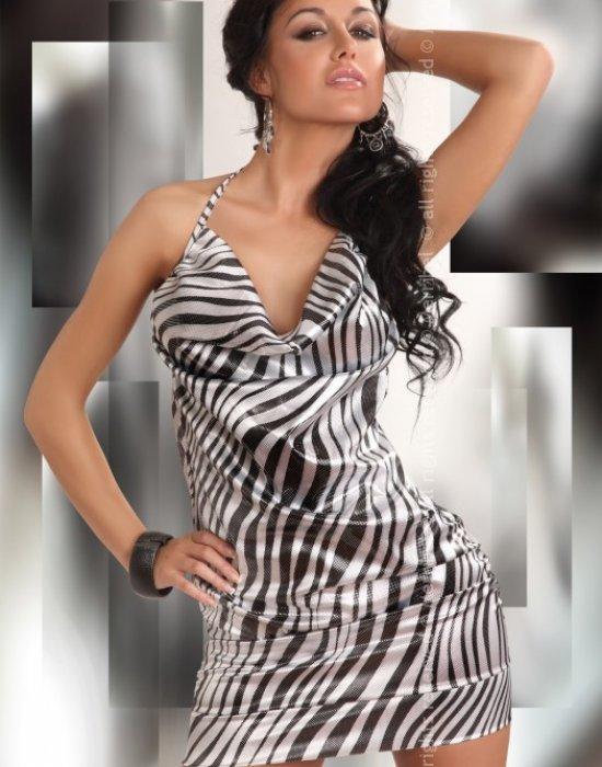 Секси къса рокля Eliora, Merribel, Къси рокли - Modavel.com