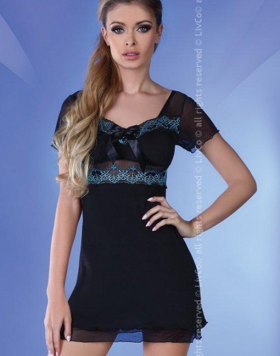 Секси нощница с прашки Basimah, LivCo Corsetti Fashion, Комплекти - Modavel.com