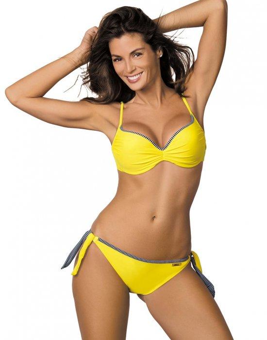 Бански костюм от две части в жълто Penelope M-437-2, Marko, Бански две части - Modavel.com