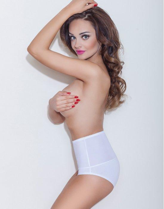 Моделиращи бикини с висока талия в бяло Iga, Mitex, Бикини - Modavel.com