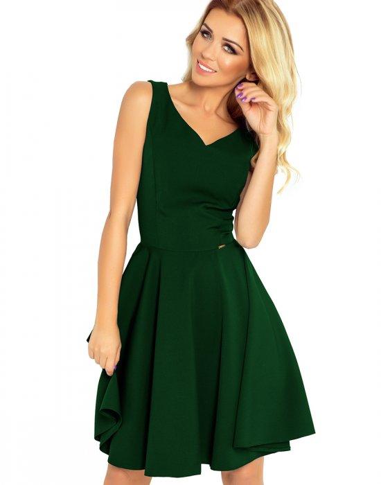 Миди рокля в зелен цвят 114-10, Numoco, Миди рокли - Modavel.com