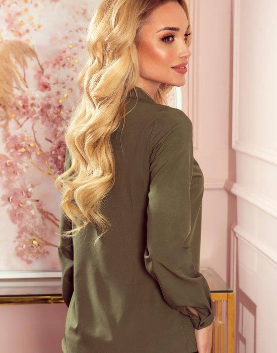 Блуза в цвят каки 140-14, Numoco, Ризи - Modavel.com