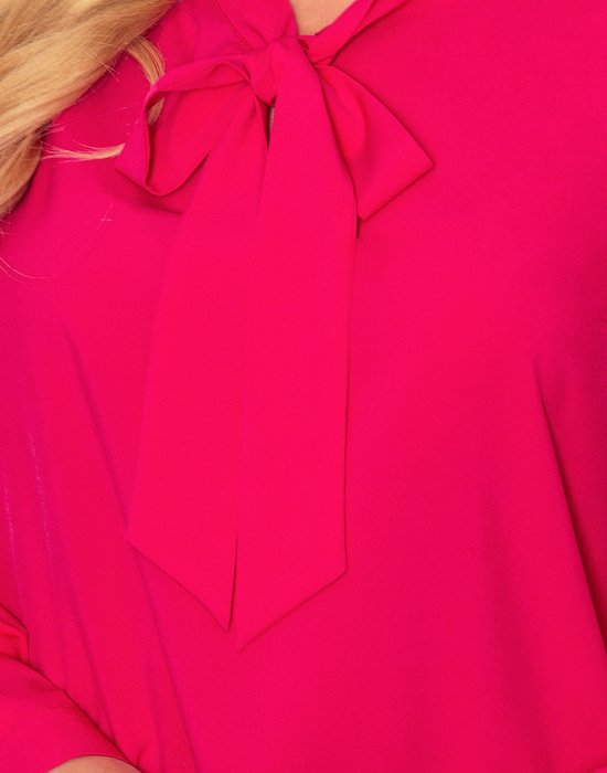 Блуза в цвят малина 140-15, Numoco, Ризи - Modavel.com