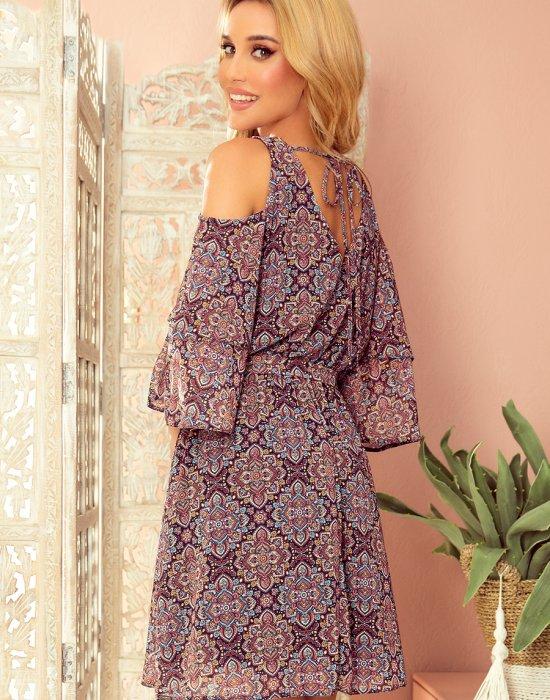 Ефирна рокля с етно мотиви 292-3