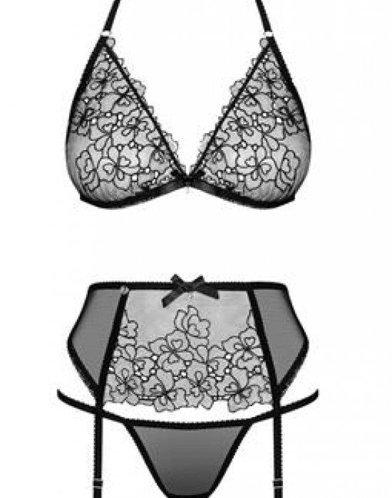 Комплект от три части в черно Uniquella, Obsessive, Комплекти - Modavel.com