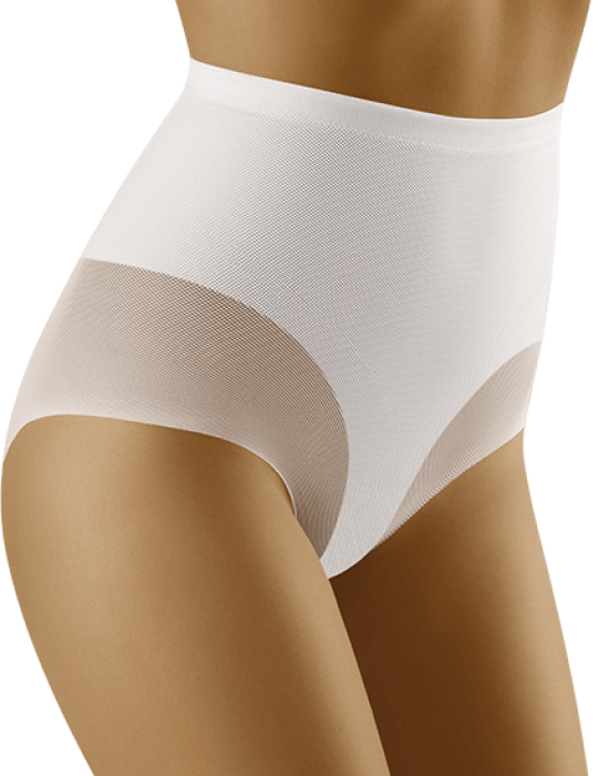 Моделиращи бикини с висока талия в бяло Sentima, Wolbar, Бикини - Modavel.com