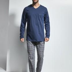 Мъжка пижама в син цвят Arthur