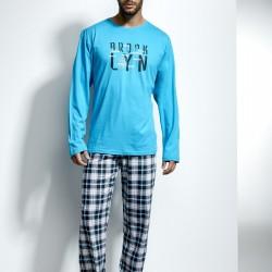 Мъжка пижама в син цвят Island