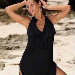 Плажна туника в черен цвят Erin M-515-10