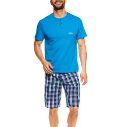 Синя мъжка пижама 55X