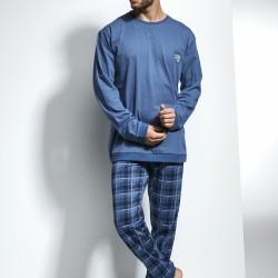 Синя мъжка пижама Varsity